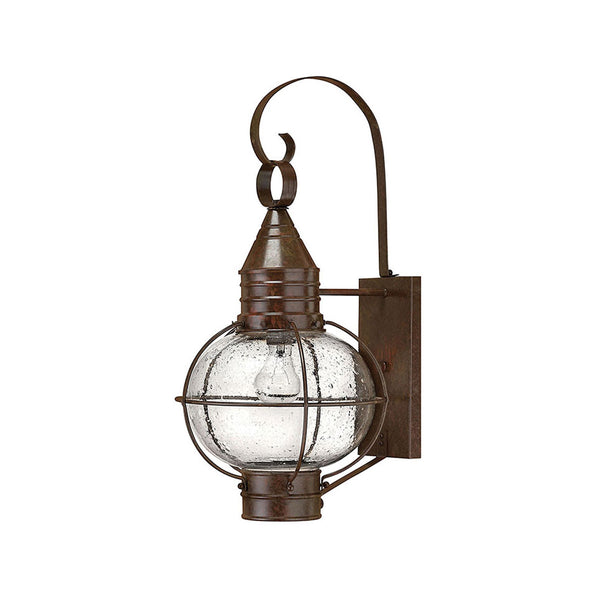 Hinkley Lighting 2204SZ Cape Cod 1 Light 23 inch Sienna Bronze Outdoor Wall Mount