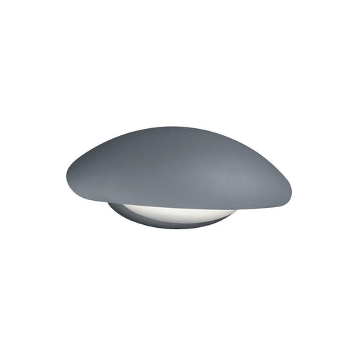 Arnsberg Missouri 1 Light 6 inch Titanium and Light Grey Outdoor Wall Light