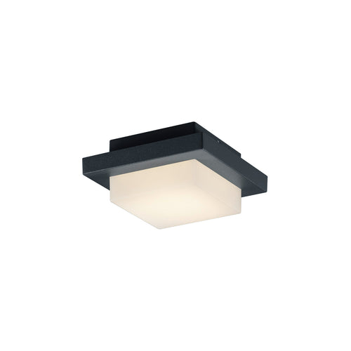 Arnsberg Hondo 1 Light 6 inch Dark Grey Outdoor Wall Light
