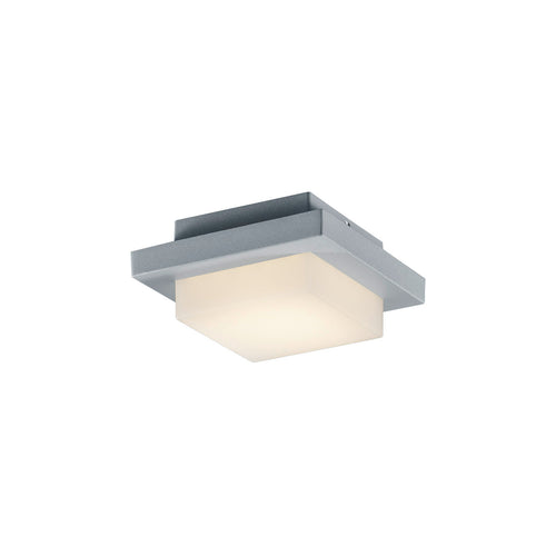 Arnsberg Hondo 1 Light 6 inch Titanium and Light Grey Outdoor Wall Light