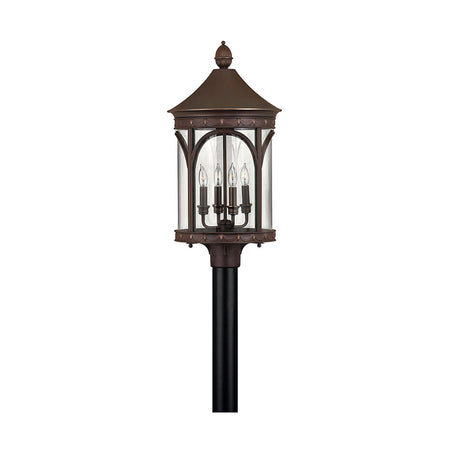 Avenue Lighting Avenue Outdoor LED 14 inch Silver Pillar Mount