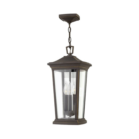Hinkley Lighting Rhodes 1 Light 22 inch Warm Bronze Outdoor Wall Mount Open Air