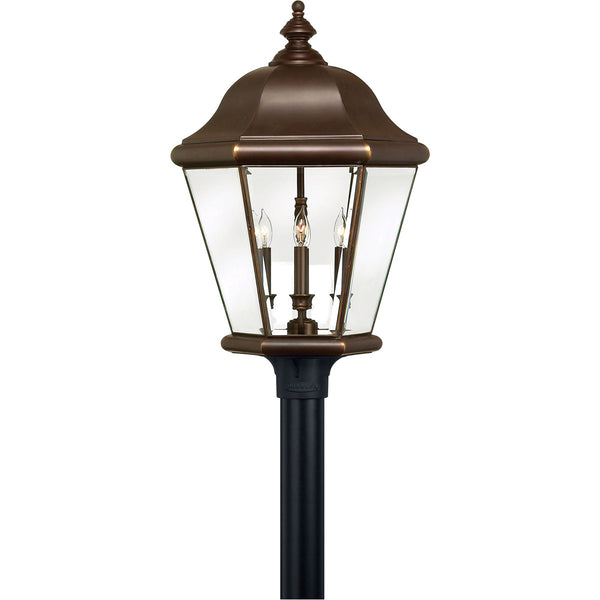 Hinkley Lighting Clifton Park 4 Light 27 inch Copper Bronze Outdoor Post Mount Post Sold Separately