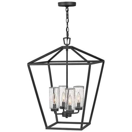 Hinkley Lighting Alford Place 17 inch Museum Black Outdoor Hanging