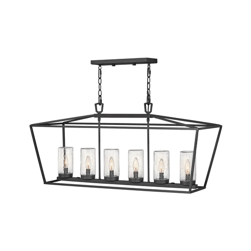 Hinkley Lighting Open Air Alford Place 40 inch Museum Black Outdoor Hanging