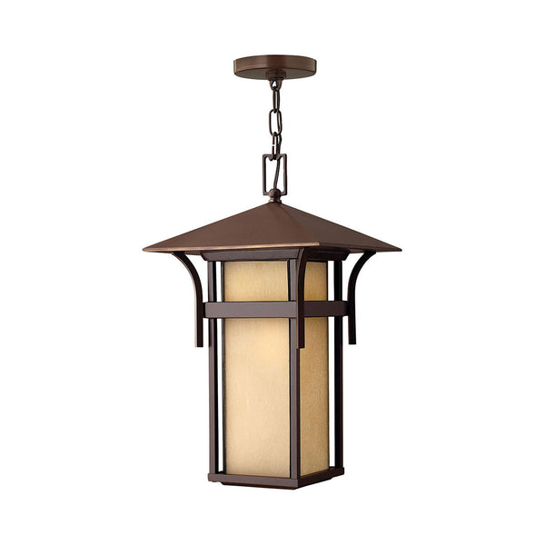 Hinkley Lighting Harbor 1 Light 11 inch Anchor Bronze Outdoor Hanging Light in Incandescent