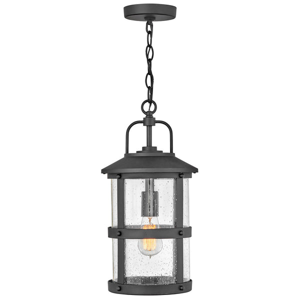 Hinkley Lighting Open Air Lakehouse 9 inch Black Outdoor Hanging