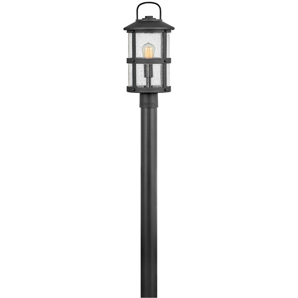Hinkley Lighting Open Air Lakehouse 19 inch Black Outdoor Post Mount
