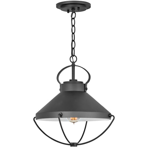 Hinkley Lighting Crew 15 inch Black Outdoor Hanging