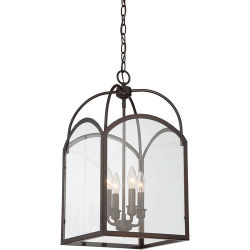 Savoy House Lighting Garrett 4 Light 12 inch English Bronze Lantern