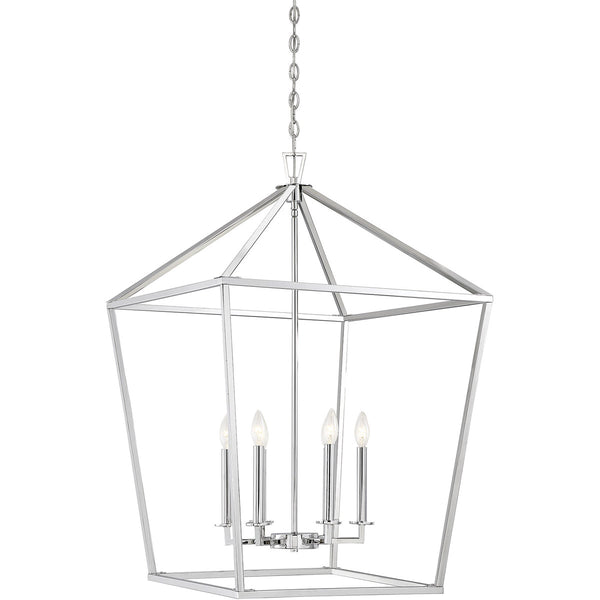 Savoy House Lighting Townsend 6 Light 24 inch Polished Nickel Lantern