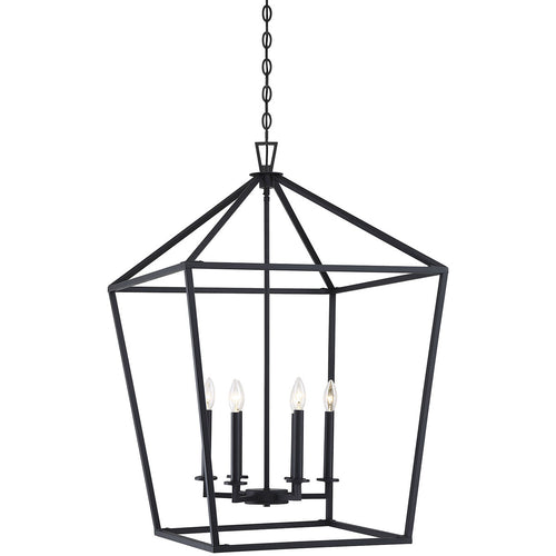 Savoy House Lighting Townsend 6 Light 24 inch Matte Black Lantern