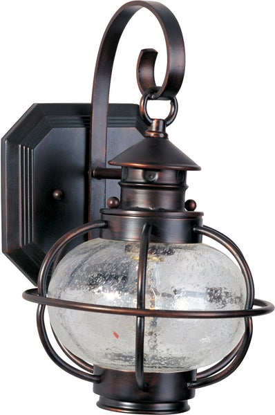 Maxim Lighting Portsmouth 1 Light 13 inch Oil Rubbed Bronze Outdoor Wall Mount