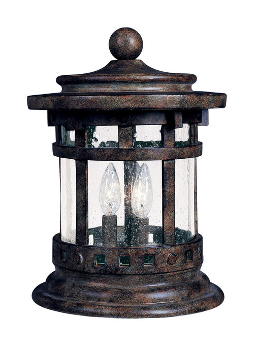 Maxim Lighting Santa Barbara DC 13 inch 40 watt Sienna Outdoor Deck Lantern
