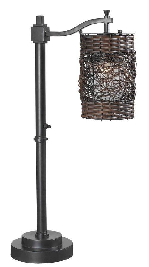 Kenroy Lighting 32143ORB Brent 30 inch 100 watt Oil Rubbed Bronze Outdoor Table Lamp