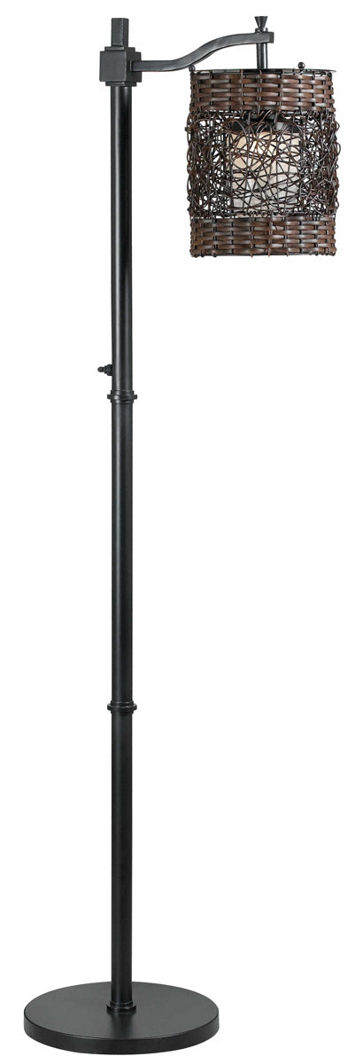 Kenroy Lighting Brent 26 inch 100 watt Oil Rubbed Bronze Outdoor Floor Lamp