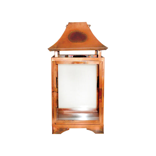 Pomeroy 401367 Bali 10 inch Burned Copper Outdoor Lantern