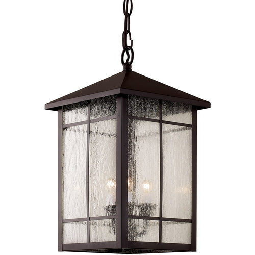 Trans Globe Lighting Capistrano 3 Light 9 inch Rubbed Oil Bronze Outdoor Hanging Lantern