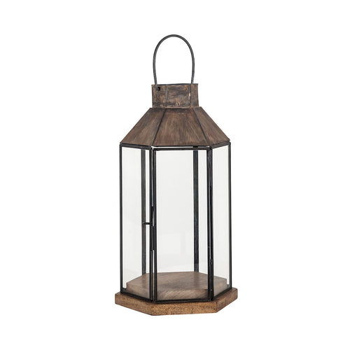 Pomeroy 404450 Franklin 8 inch Antique Zinc Outdoor Lantern