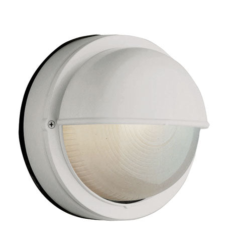 Trans Globe Lighting Mesa II WHITE Outdoor Bulkhead