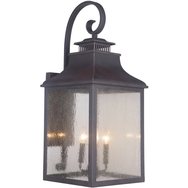 Mariana Imports Drake 4 Light 13 inch Bronze Outdoor Lantern