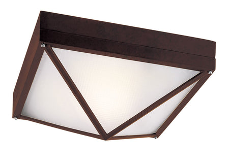 Capital Lighting Fixtures Signature 2 Light 10 inch Black Outdoor Ceiling