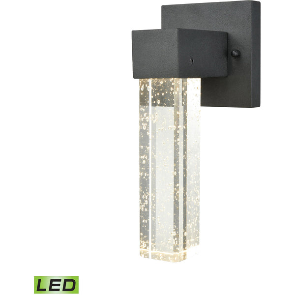 ELK Lighting 45275/LED Emode LED 10 inch Matte Black Outdoor Wall Sconce