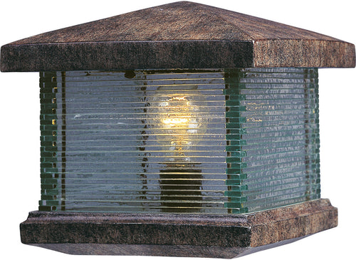 Maxim Lighting Triumph VX 10 inch 60 watt Earth Tone Outdoor Deck Lantern