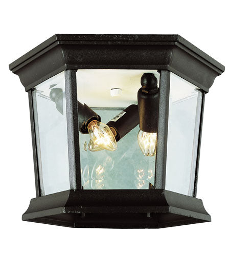 Nuvo Lighting Signature LED 9 inch Bronze Outdoor Flush Mount
