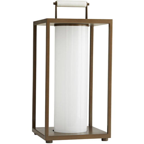 Arteriors Stetson 21 X 10 inch Aged Brass Outdoor Corded Lantern
