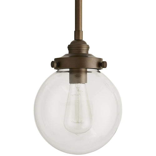 Arteriors Reeves 1 Light 8 inch Aged Brass Outdoor Pendant Small