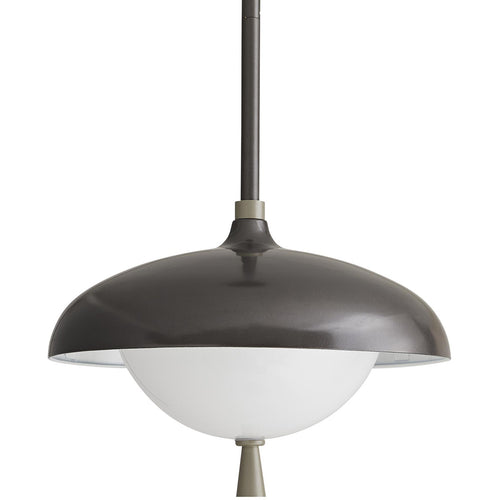 Arteriors Stanwick 1 Light 13 inch Aged Iron with Nickel Accents Outdoor Pendant