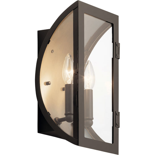 Kichler Lighting Narelle 2 Light 14 inch Olde Bronze Outdoor Wall Light
