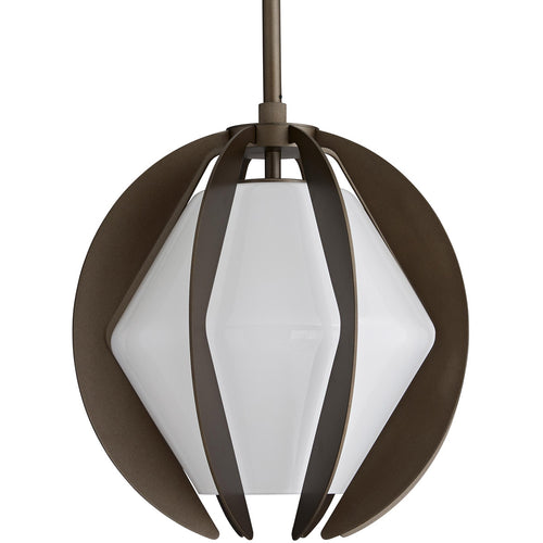 Arteriors Puzol 1 Light 13 inch Aged Brass Outdoor Pendant