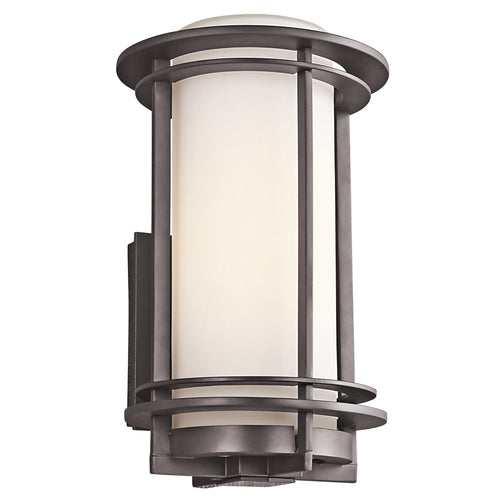 Kichler R-49345AZ Pacific Edge 1 Light 13 inch Architectural Bronze Outdoor Wall Lantern 49345AZ - Open Box