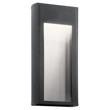 Kichler Lighting 49820BKT Yorke 1 Light 11 inch Textured Black Outdoor Wall Light Small