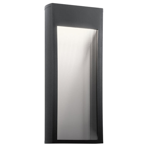 Kichler Lighting 49363BKTLED Ryo LED 21 inch Textured Black Outdoor Wall Light