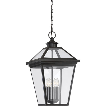ELK Lighting 46703/1 Lamplighter 1 Light 8 inch Matte Black Outdoor Hanging