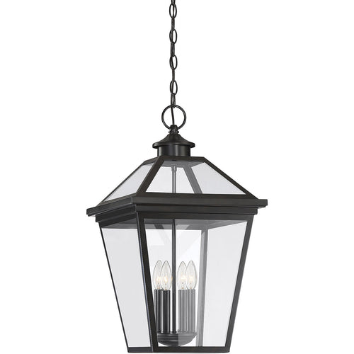 Savoy House Lighting Ellijay 4 Light 14 inch English Bronze Outdoor Hanging Lantern