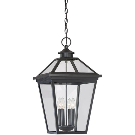 Kuzco Lighting Lamar 13 inch Black Outdoor Pendant