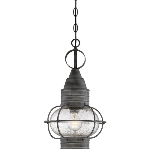 Savoy House Lighting Enfield 1 Light 10 inch Oxidized Black Outdoor Hanging Lantern