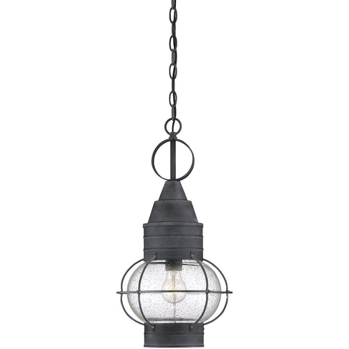 Savoy House Lighting Enfield 1 Light 11 inch Oxidized Black Outdoor Hanging Lantern