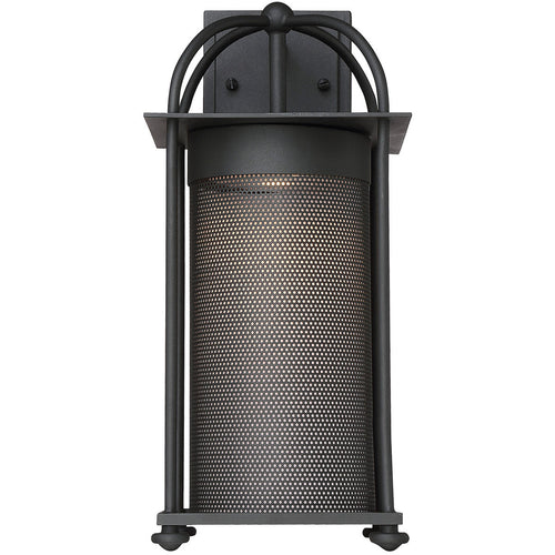 Savoy House Lighting Sierra LED 16 inch Black Outdoor Wall Lantern