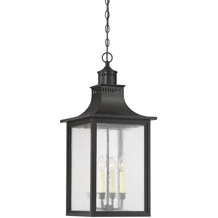 ELK Lighting Girard 1 Light 9 inch Charcoal Outdoor Hanging