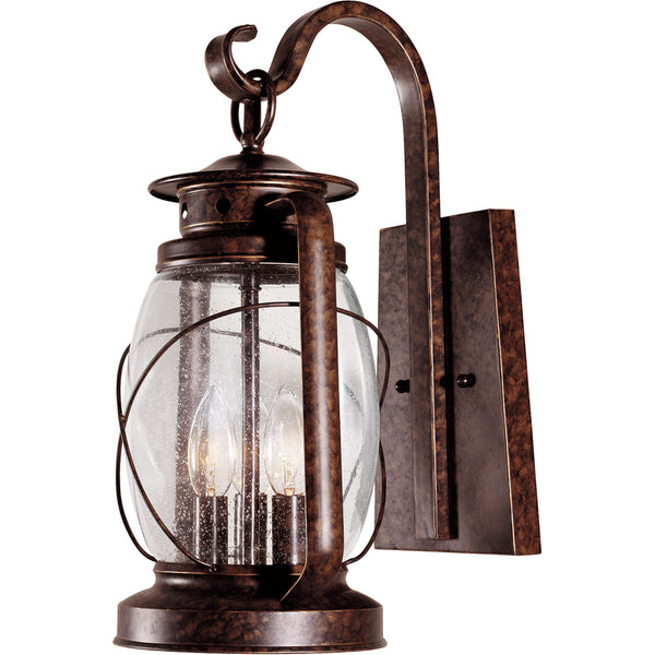 Savoy House Lighting Smith Mountain 3 Light 17 inch New Tortoise Shell Outdoor Wall Lantern