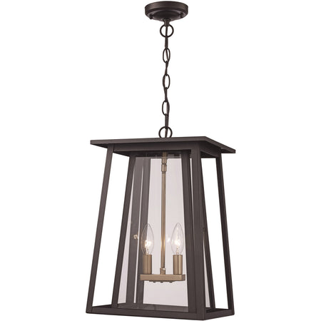 Kuzco Lighting Arctic LED 28 inch Gold Outdoor Pendant