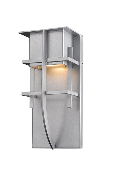 Z-Lite Stillwater LED 11 inch Silver Outdoor Wall Sconce