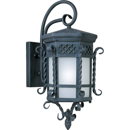 Maxim Lighting Westlake 1 Light 24 inch Black Outdoor Wall Mount