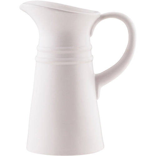 Pomeroy 565120 Country White Outdoor Pitcher Vase