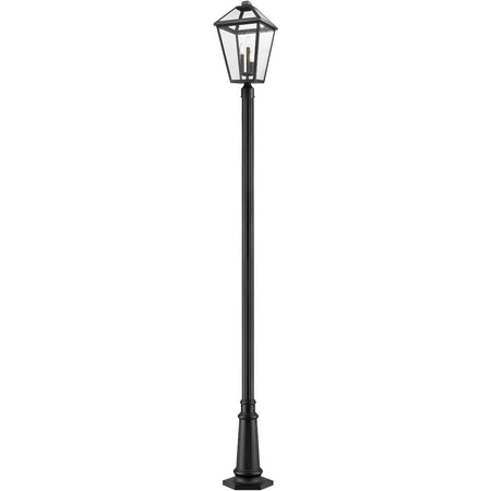 Progress Lighting Post Lights & Accessories 84 inch Black Aluminum Post